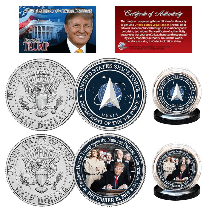 Space Force Trump Coin Bundle