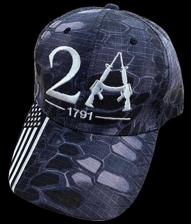 Dark Camo 2A Hat