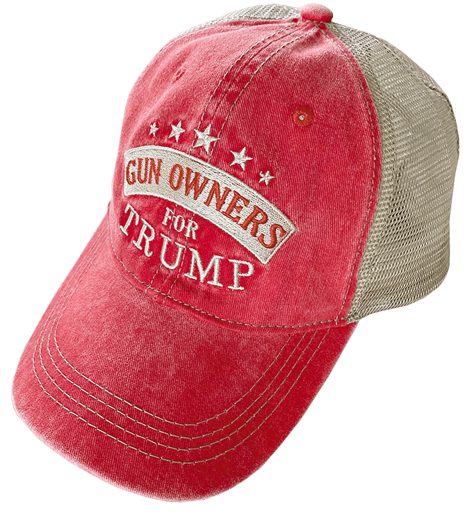 Free Gun Owners For Trump Hat