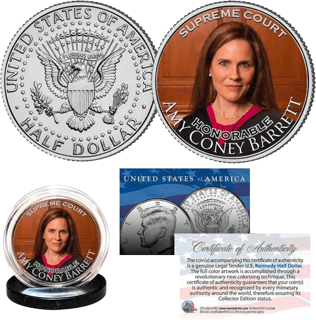 Justice Amy Coney Barrett Coin