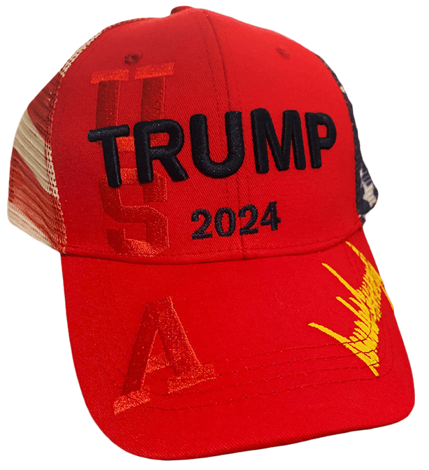 Trump 2024 Hat USA Red