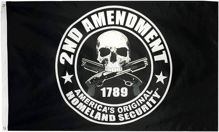 Second Amendment 2A Flag