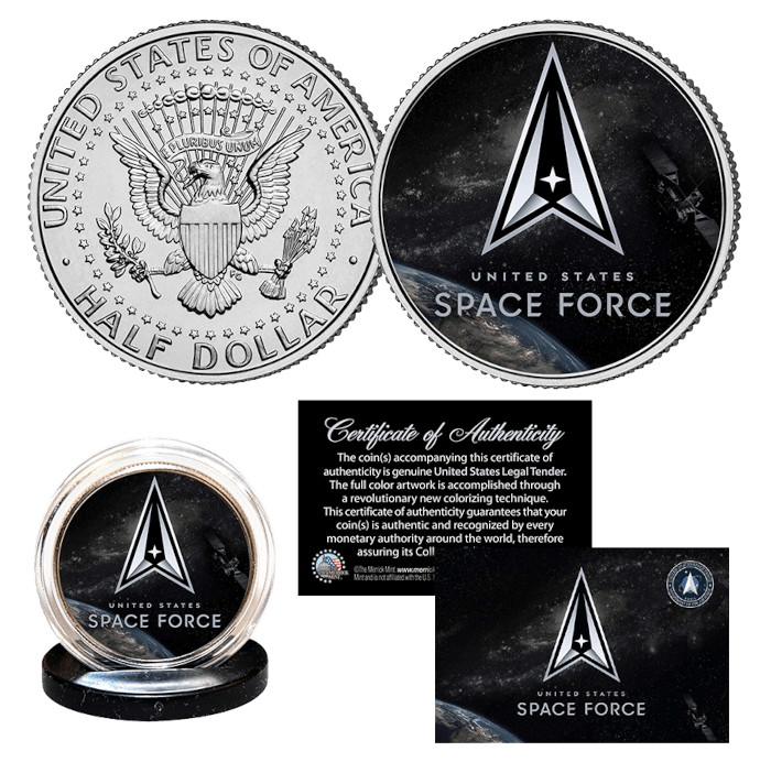 US Space Force Coin