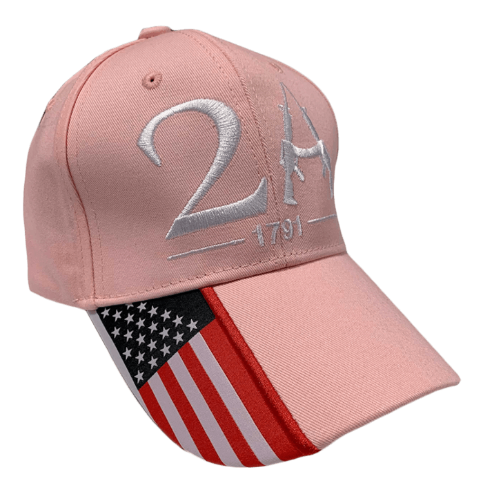 pink 2A hat