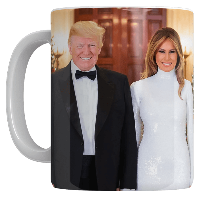 Trump and Melania Coffee Mug