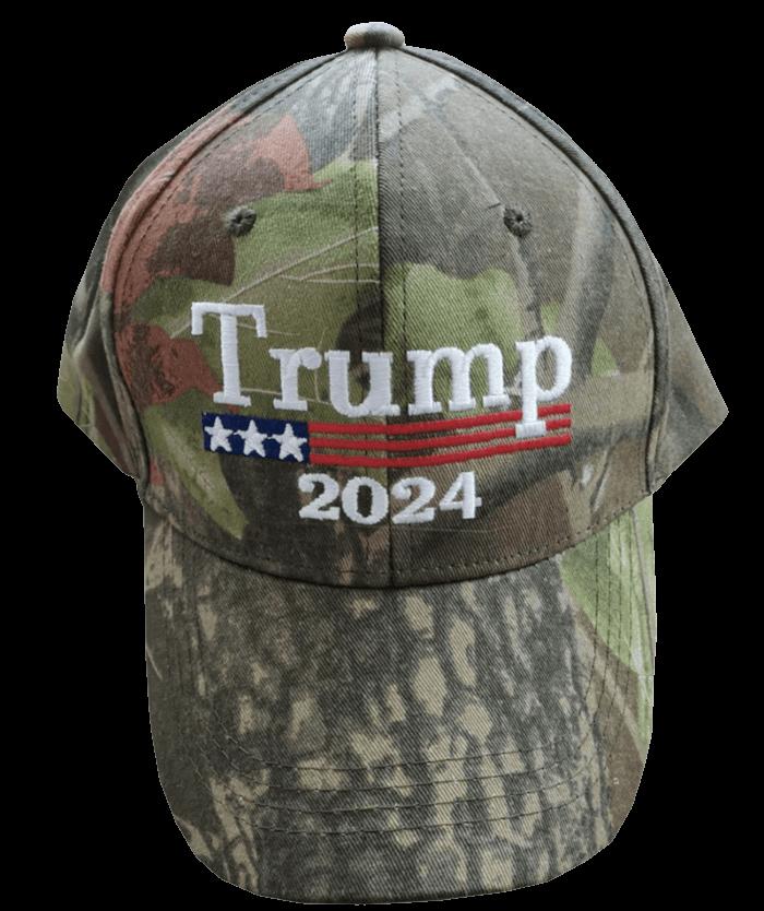Trump 2024 Camo Hat