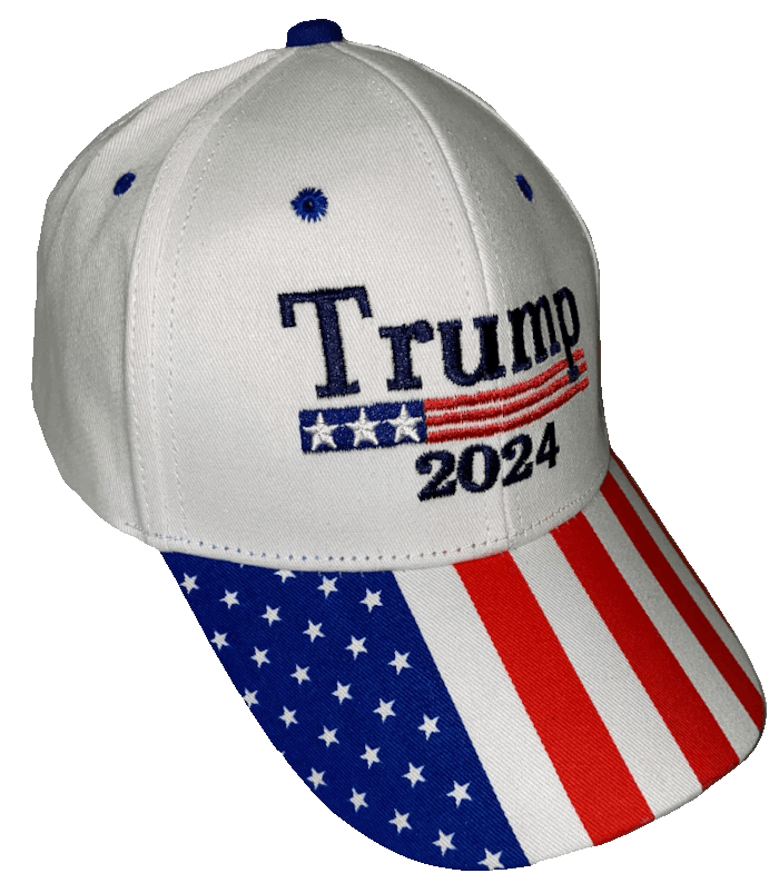 Free Trump 2024 Patriotic Hat