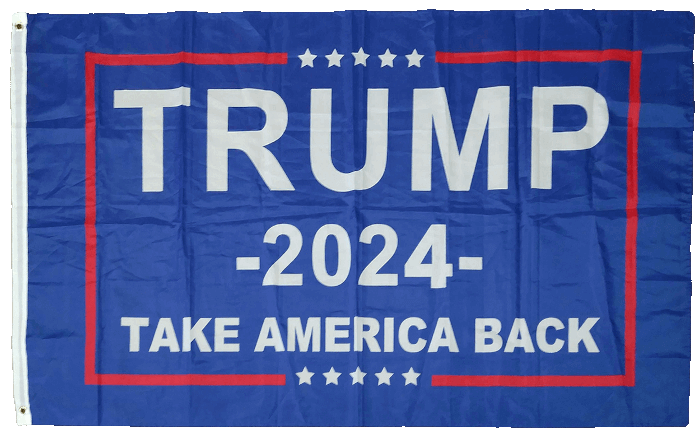 Tump 2024 Flag Take America Back